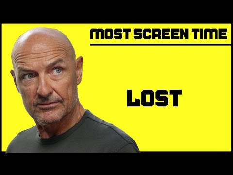 LOST Screen Time Characters COMPLETE SERIES