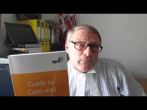 APIL Guide to Costs and Funding  short clip
