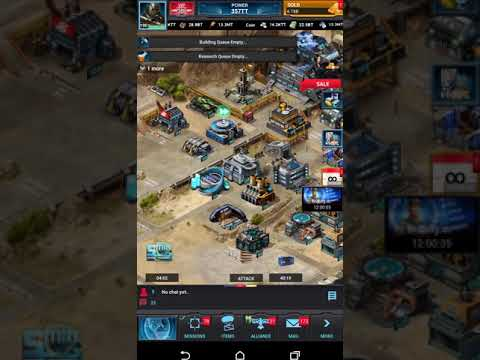 Mobile Strike -cheap pack glitch got Building modifiers , War lord Co Skills, Gear lvl 5.5k a!