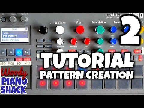 Korg Electribe 2 Demo & Review 05 - Pattern tutorial