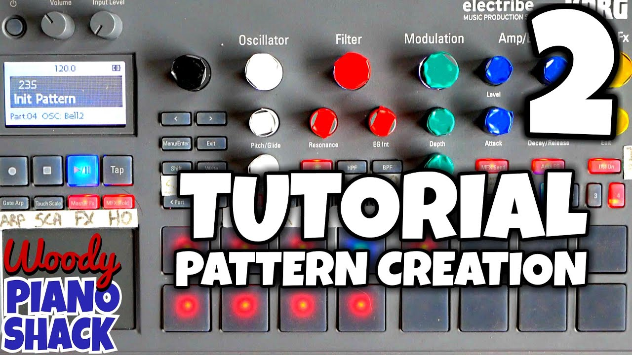 pattern korg electribe 2