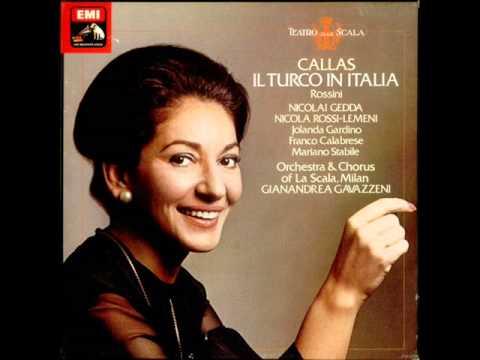 MARIA CALLAS - IL TURCO IN ITALIA