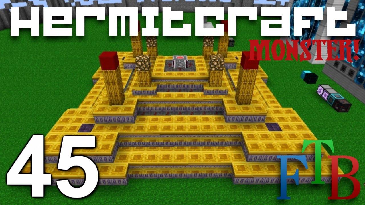 Minecraft FTB Monster Ep  45 - Blood Magic Well of Suffering !!! (Modded  Minecraft Hermitcraft)