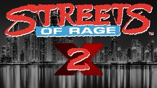 Streets of Rage 2X (OPENBOR) - Test 1