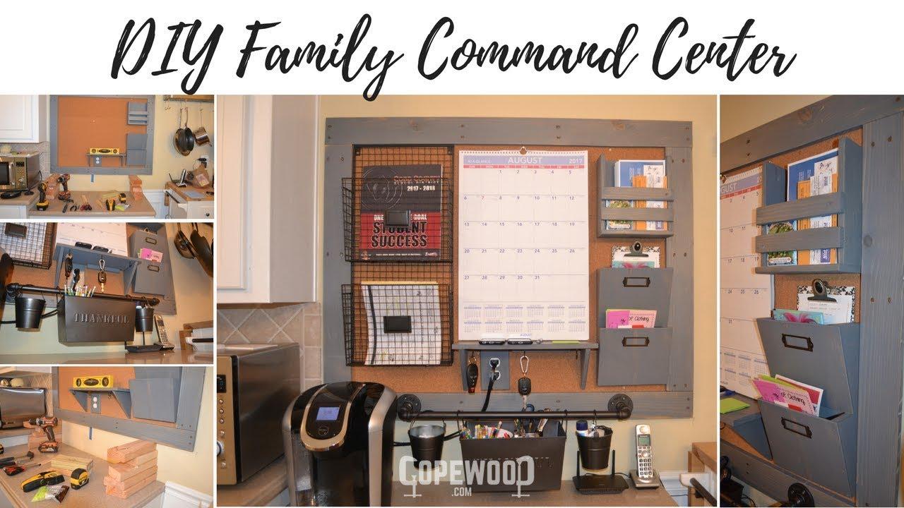 Diy Family Command Center Copewood