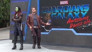 Guardians of the Galaxy Awesome Dance Off - Interactive show in Walt Disney Studios Paris 2018