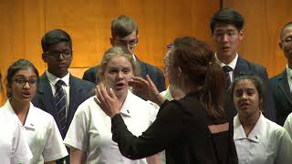 The Big Sing 2017 Session 01 Macleans College Chorale - I am not yours, Z. Randall Stroope