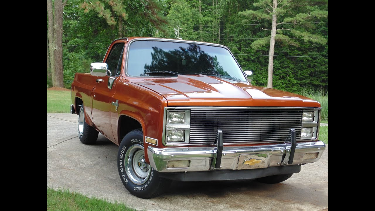 1982 Chevy C10 New Paint    Cold Start
