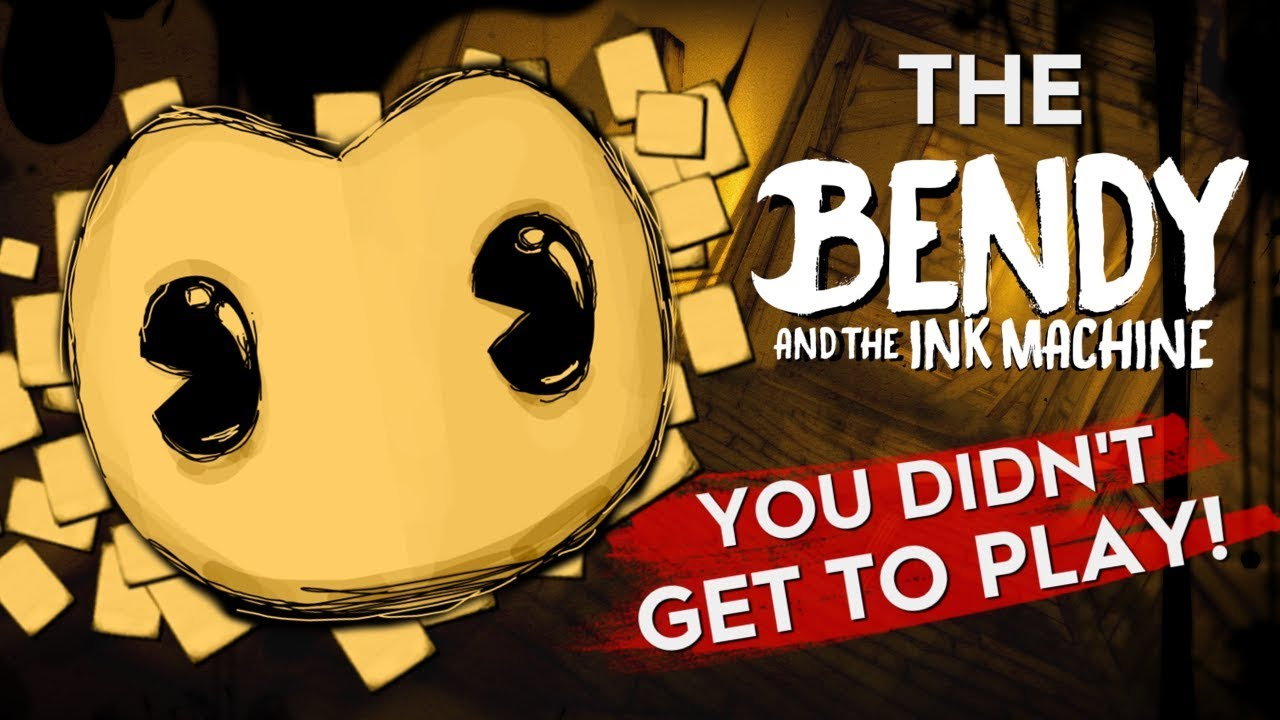 BATIM PROTOTYPES! | The Bendy and the Ink Machine You DIDN ...