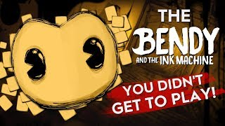 BATIM PROTOTYPES! | The Bendy and the Ink Machine You DIDN'T Get to Play