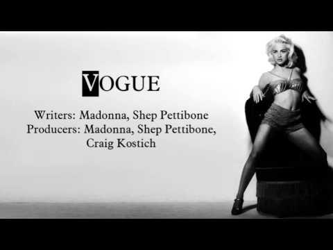 Vogue - Instrumental 2 (with Backup Vocals)