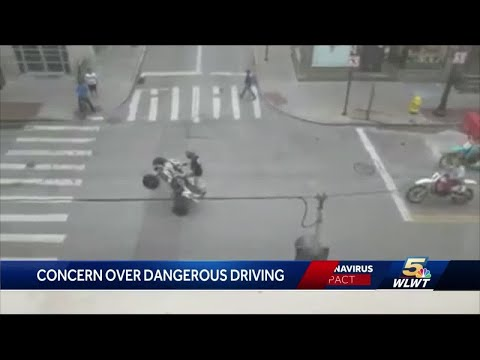 Cincinnati residents noticing uptick in fast, loud vehicles on streets due to less traffic conges...