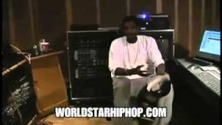 Throwback Documentary Footage  Young Kanye West Freestyles   Impresses Jay-Z In The Studio