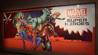 Take a Tour of the New 'Marvel: Universe of Super Heroes' Exhibit!