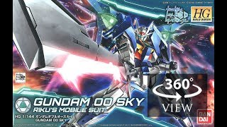 [360°Degree] HG 1/144 Gundam 00 Sky