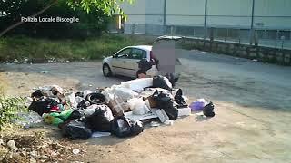 Abbandono illegale di rifiuti, incivili scovati con le foto-trappole