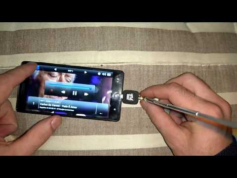 Micro USB DVB - T TV Tuner Receiver for Android Smartphone Tablet PC