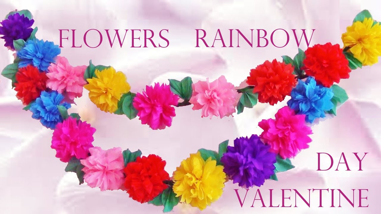 Como decorar tu cuarto flores arco iris how to decorate - Como decorar tu cuarto ...