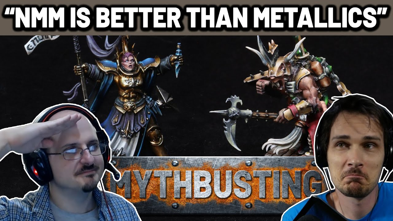 NMM is Better than TMM - Miniature Painting Mythbusting S01 E04