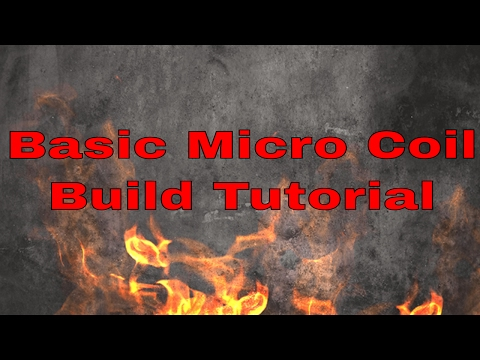 Micro Coil Build Tutorial