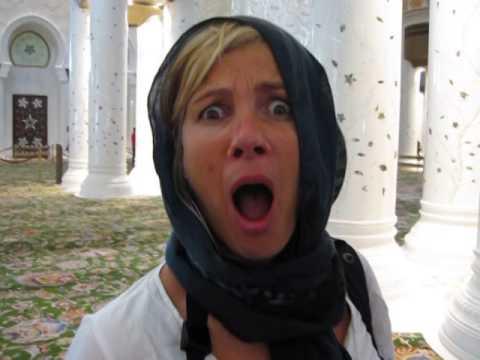 Syl in de Sjeik Said Moskee karaoke
