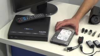 Состав оборудования для систем видеонаблюдения, , Магазин