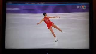 Mirai Nagasu Landing Her Triple Axel At The 2018 Olympics! History!