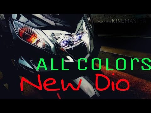 New Honda Dio Dlx 2018 - New colors