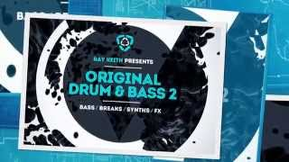 Drum and Bass Samples - Ray Keith Presents Original Drum Bass Vol 2