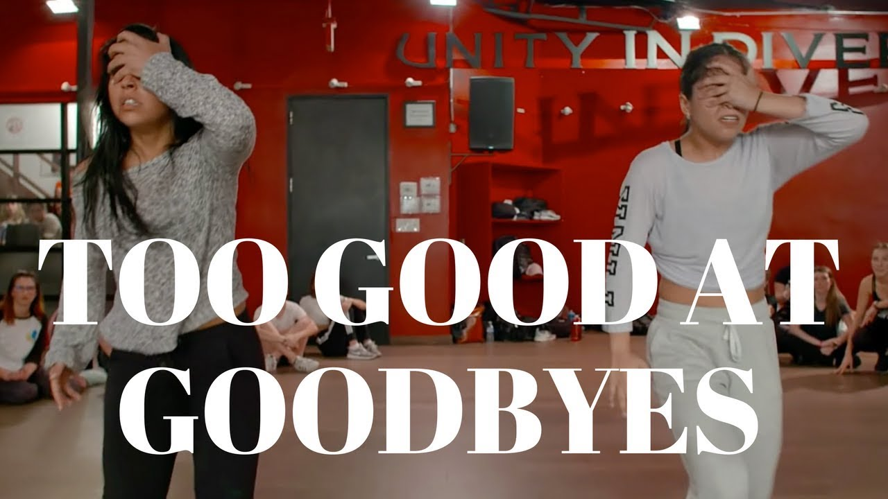 Too Good At Goodbyes- Sam Smith DANCE VIDEO