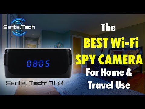 Spy Camera Clock: The Best Wi-Fi Hidden Camera for Home, Office & Travel Use (2018)