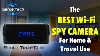 Spy Camera Clock: The Best Wi-Fi Hidden Camera for Home, Office \u0026 Travel Use (2018)