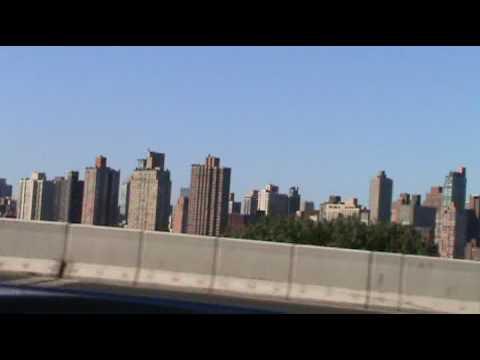 New york City from some New york Bridge