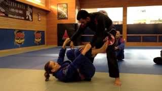 Ankle Lock from Guard with BJJ Brown Belt Leanna Dietrich