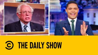 Bernie Stages Passionate Debate Comeback After Heart Attack | The Daily Show With Trevor Noah