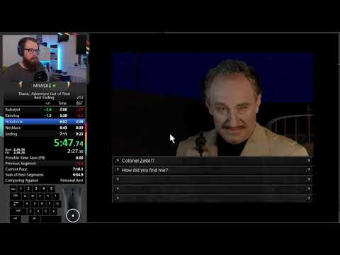 SpeedRun Titanic: Adventure Out of Time - New Best Ending WR 7:06.75  