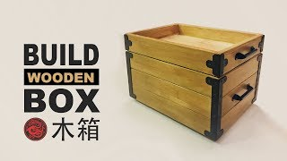 Build a wooden box | Storage Box | Wood Crate