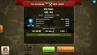 50 vs 50 face-off    War raids that wrecked    Clash of clans