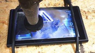 Nintendo Switch Extreme Durability Test w/ A 60,000 PSI Waterjet