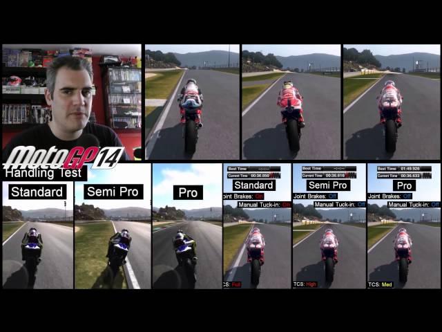 MotoGP '14 and '13 Handling Comparison