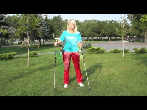 Разминка,суставная гимнастика,скандинавская ходьба