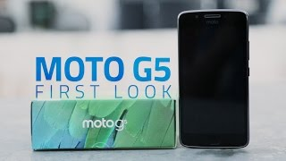 Moto G5: Unboxing and First Look
