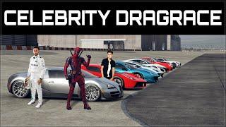 The Ultimate Celebrity Dragrace #2 | ft. Bill Gates, Lewis Hamilton, Schwarzenegger & more!