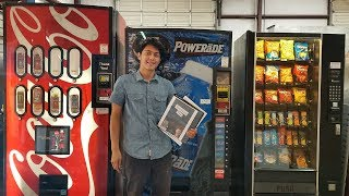 How I Started My Vending Machine Business At 18 Years Old