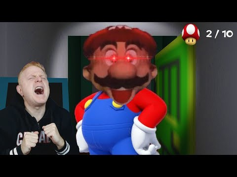 FIND ALL THE MUSHROOMS BEFORE MARIO FINDS YOU | MARIO'S NIGHTMARE - NIGHT 1 AND 2