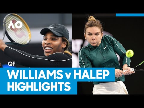 Serena Williams vs Simona Halep Match Highlights (QF) | Australian Open 2021