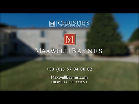 Luxury house for sale near Royan, SW France. Maxwell-Baynes Christie's Real Estate ref: 4234771