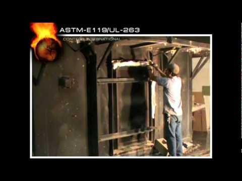 Astm E119 Ul 263 Full Scale Fire Resistance Test For