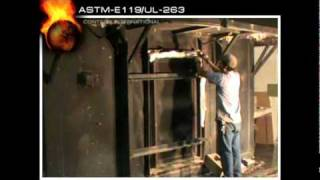 ASTM-E119/UL-263: Full Scale Fire Resistance Test for Steel Beams and Metal Decking Thumbnail
