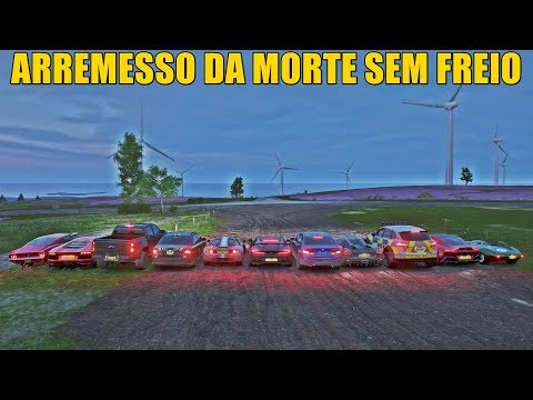 ARREMESSO DA MORTE SEM FREIO DE LAMBORGHINI AVENTADOR - FORZA HORIZON 4 - GAMEPLAY thumbnail